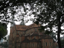 Rear view of the Basilica