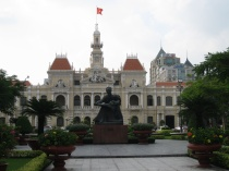 "Hotel de Ville with ""Uncle Ho"""