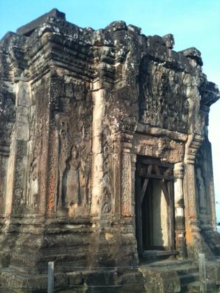 Top of the temple on Phnom Bakheng