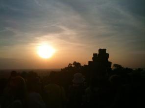 Sunset on Phnom Bakheng