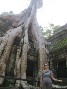Me at Ta Prohm temple
