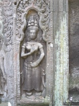 Ta Prohm carving